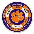 NCAA unisex Schedule Golf Ball Marker Coin