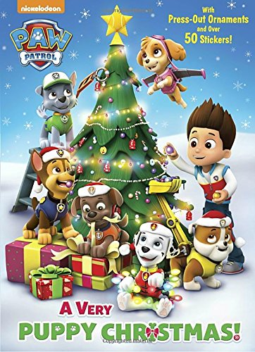 Puppy Christmas Cards (A Very Puppy Christmas! (PAW Patrol) (Color Plus Cardstock and)