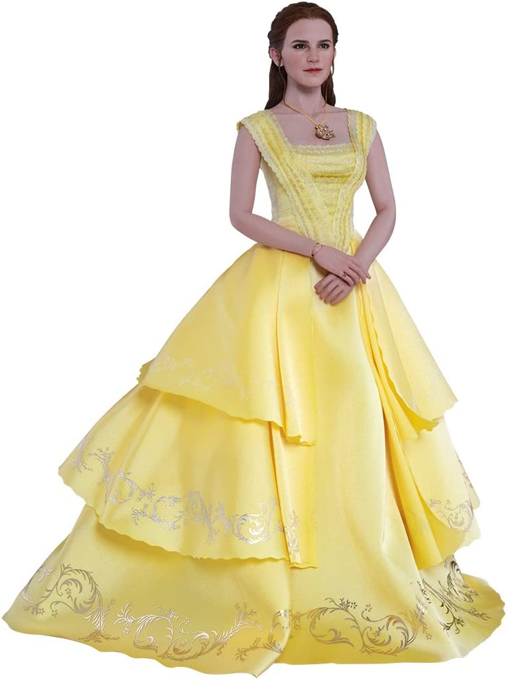 Amazon Com Hot Toys Disney Beauty And The Beast Belle Emma Watson 1 6 Scale Figure Toys Games