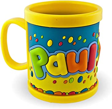 prix officiel New York date de sortie: Meine namenstasse 3D paul jaune mug tasse mug en plastique ...