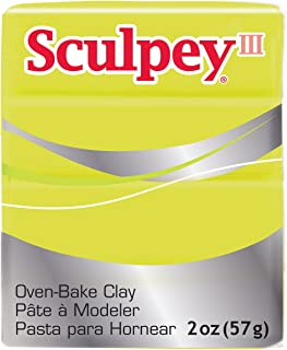 product image for Sculpey III Clay, Acid Yellow