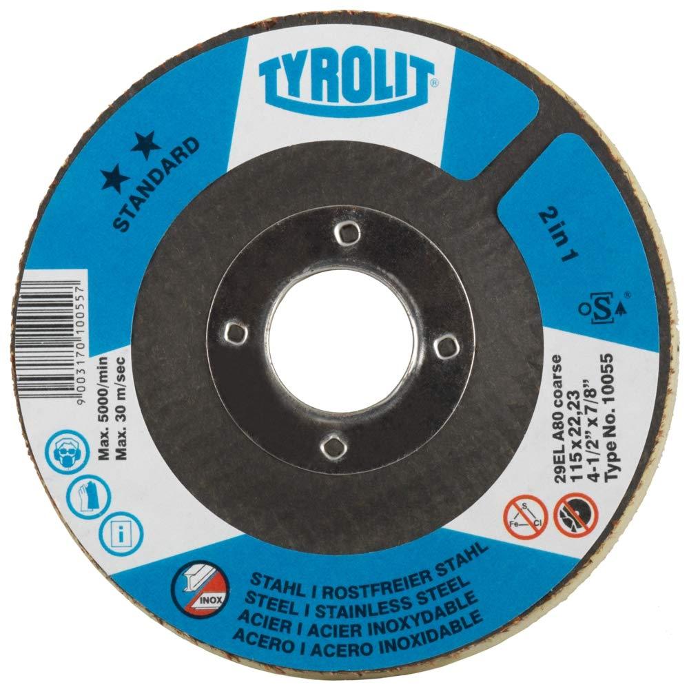 Tyrolit Tyr–1005601001B Elastic Rondeller 29EL 115x9x22,2A150Medium