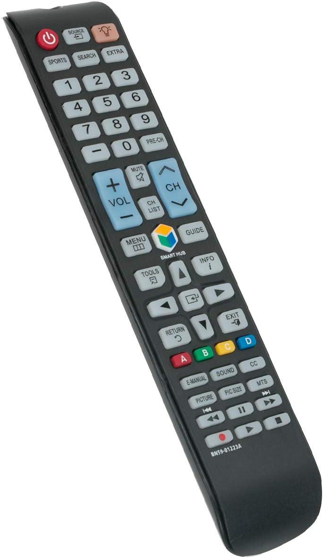 DEHA TV Remote Control for Samsung UN50JU650DF Television