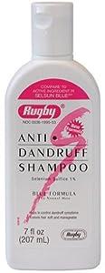 Rugby Selenium Sulfide Anti-Dandruff Shampoo 7 oz
