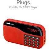 Portronics POR-143 Plugs Portable Speaker (Red)