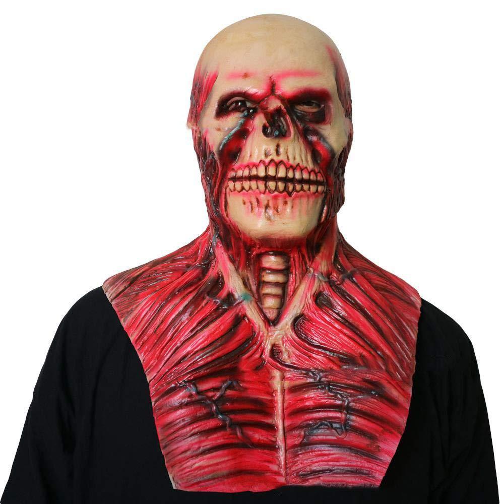Circlefly Maschera Zombie cranio di prom costume Halloween Horror Alien maschera maschere adulto