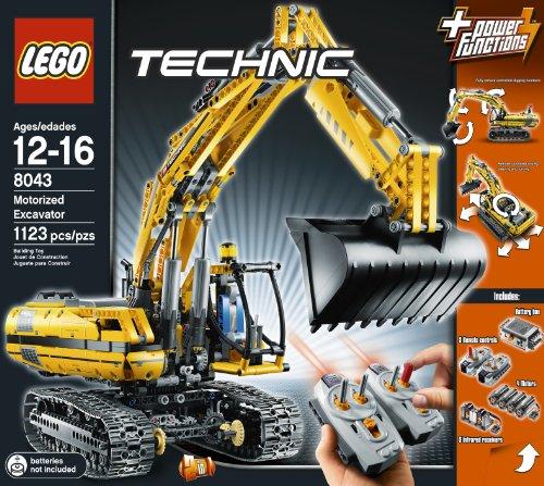 Amazon.com: LEGO TECHNIC Motorized Excavator 8043: Toys & Games