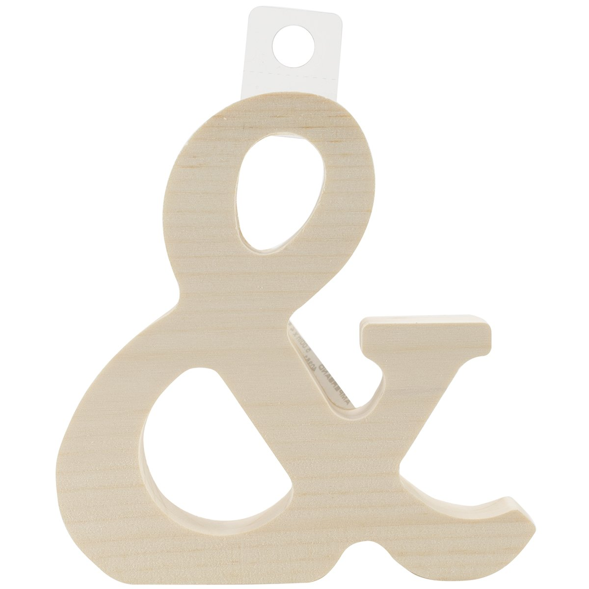 Walnut Hollow Wood Letter, 5 by 0.63-Inch, Ampersand 262WH-40351