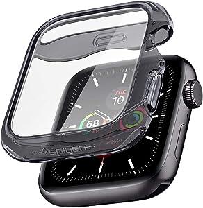 Spigen Ultra Hybrid Designed for Apple Watch Screen Protector Case for 44mm Series 6/SE/5/4 - Space Crystal