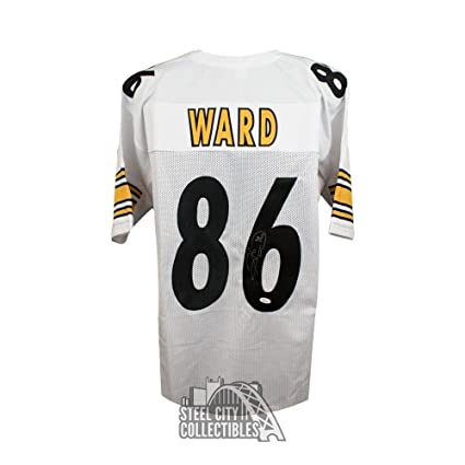 474aa6081c2 Autographed Hines Ward Jersey - Custom White COA - JSA Certified -  Autographed NFL Jerseys