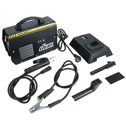 Funnyrunstore JUBA MMA-120 IGBT Electrodos Máquina soldadora inversora Máquina soldadora eléctrica profesional Equipo de