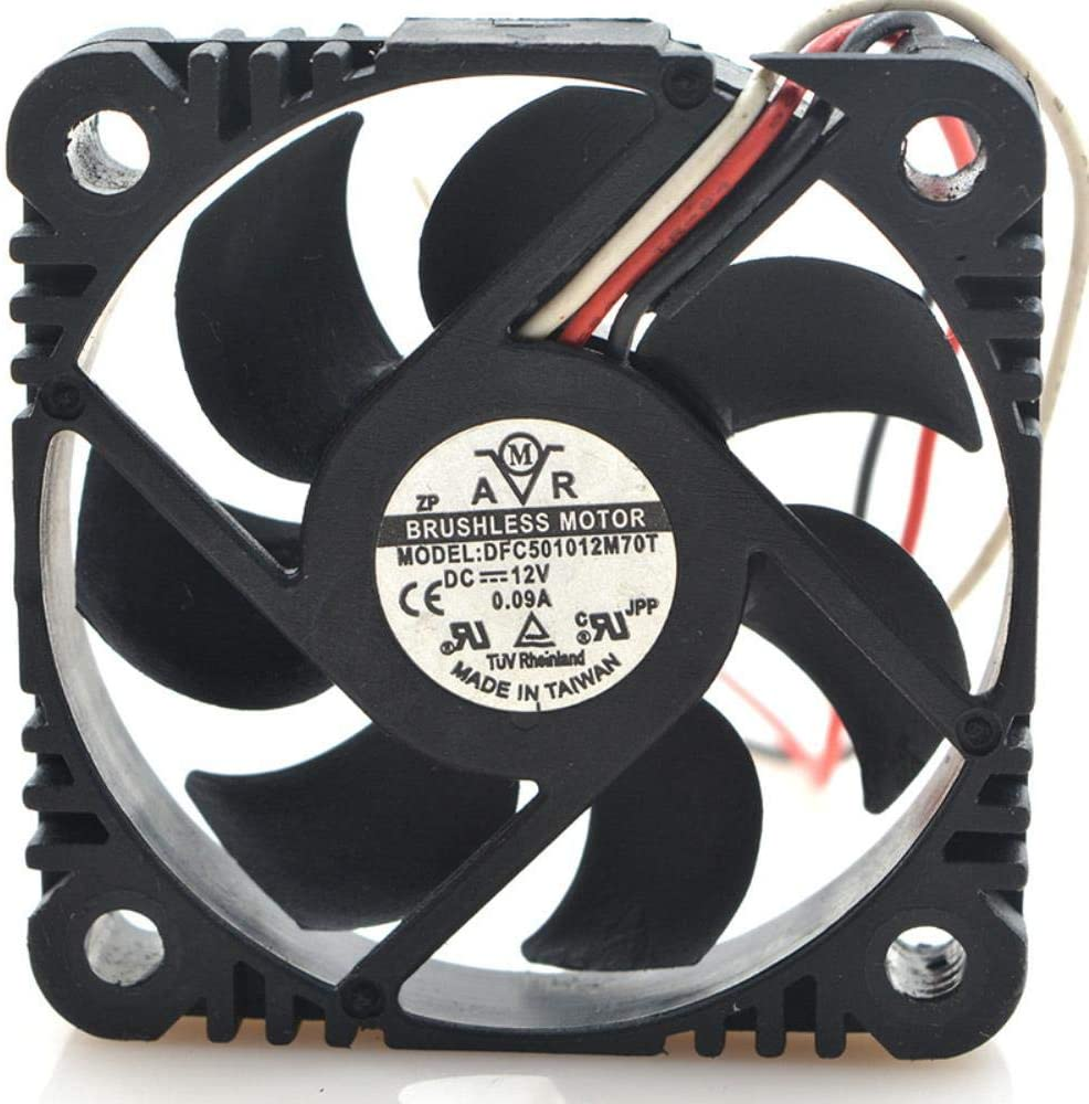for DFC501012M70T 12V 0.09a 5010 5CM 3-line Ultra-Quiet Cooling Fan