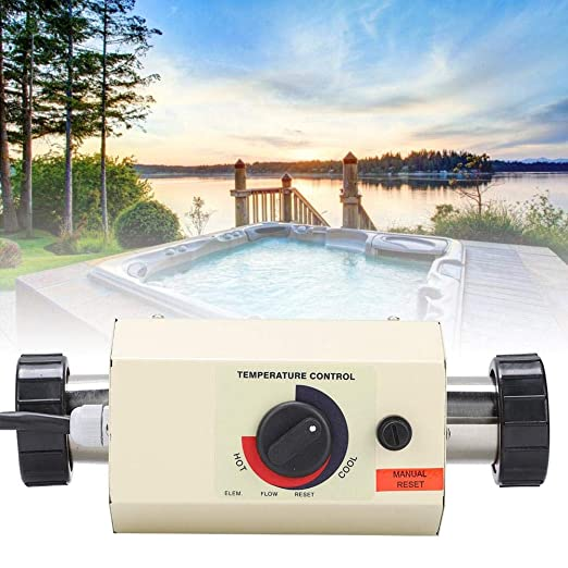 Nannday Mini Termostato de Calentador de Agua 3KW Termostato ...
