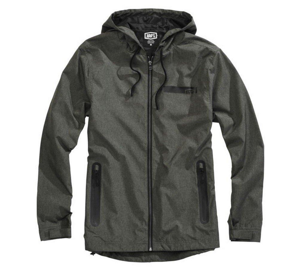 100% Storbi Jacket (X-LARGE) (ARMY HEATHER)