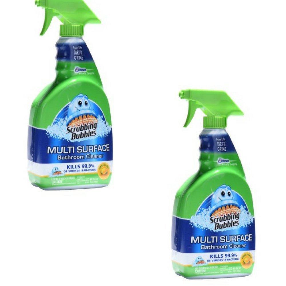 Fresh citrus, Foaming Disinfectant浴室クリーナー32オンスby Scrubbing Bubbles B073Z58LT4  2