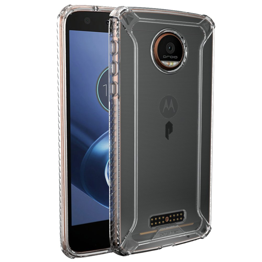 poetic affinity clear premium thin case for moto z force moto z force droid ebay. Black Bedroom Furniture Sets. Home Design Ideas