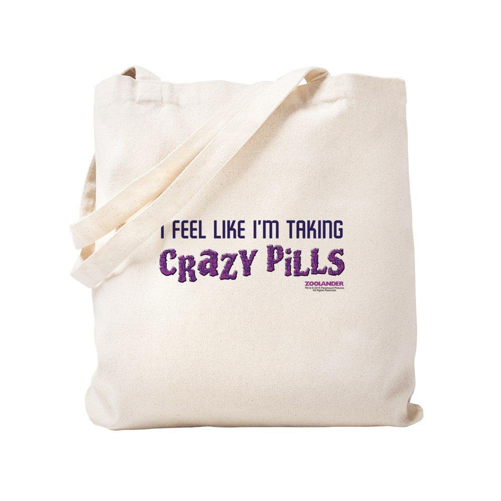 CafePress – Crazy Pills – ナチュラルキャンバストートバッグ、布ショッピングバッグ S ベージュ 1713776077DECC2 B0773STG1F S