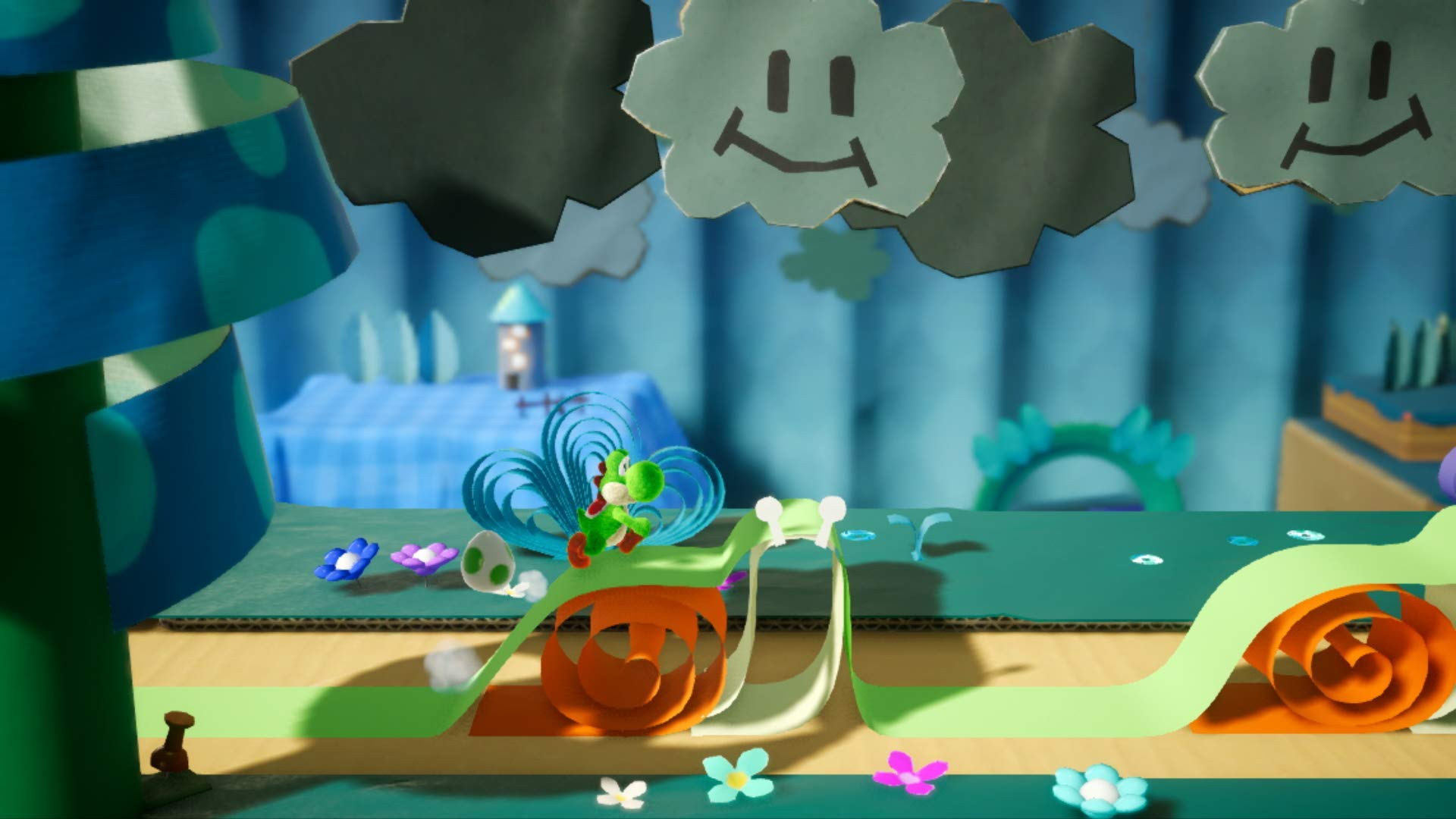 Yoshi's Crafted World - Nintendo Switch by Nintendo (Image #5)