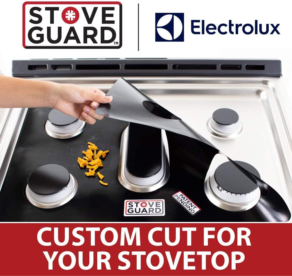 Electrolux Stove Protectors - Stove Top Protector for Electrolux Gas Ranges - Ultra Thin, Easy Clean Stove Liner