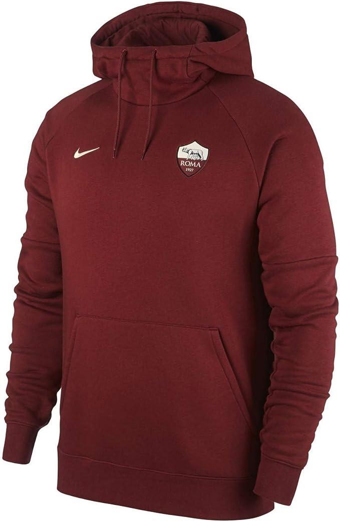Nike As Roma - Felpa con Cappuccio Uomo
