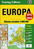 Europa. Atlante stradale 1:800.000