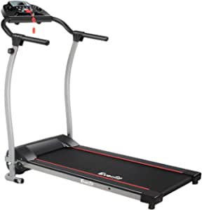 Electric Treadmill Motorised Running Exercise Machine Home Gym Fitness Equipment Everfit Lightweight Folding Design Powerful Motor 6KM/H Speed 3 Training Programs LCD Display