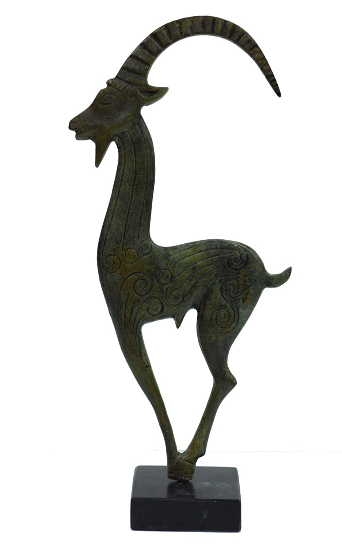 Wild Goat Bronze figure –  simbolo di Dio pan Talos Artifacts