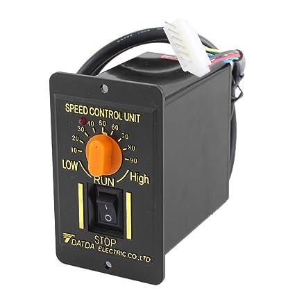 sourcingmap 220 V 50 Hz 200 W1-Phase CW/CCW 10-90 U/min einstellbar AC-Motor Fahrtregler DE de