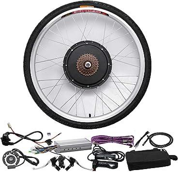 HLeoz 48V 1000W E-Bike Kit de Conversión, 26 Kit de Conversión de Motores Eléctricos para Adultos Ciclismo para Bicicletas de Carretera Bicicleta de Montaña: Amazon.es: Deportes y aire libre
