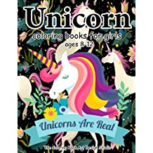 Unicorn Coloring Books For Girls Ages 8 12 Book