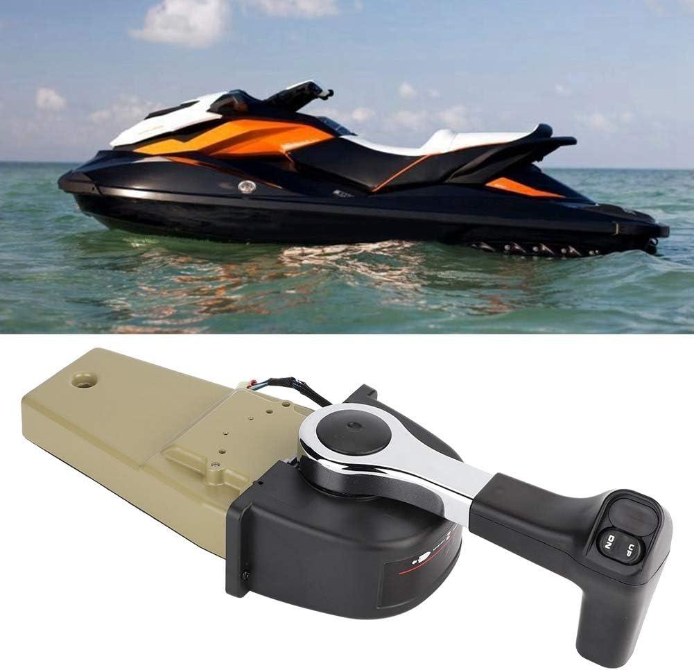Single Engine Top Mount Boat Remote Control Box Fit for Honda 06240-ZW5-U20 Boat Remote Control