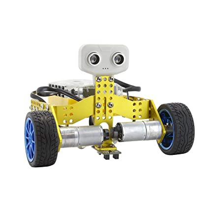 Amazon Com Tenergy Odev Tomo Stem Robot 2 In 1 Diy Robot Kit