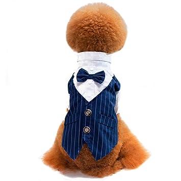 df291bf6650bc 犬服 ペット服 ドッグウェア 犬洋服 ストライプ タキシード 紳士スーツ 結婚式 ウェディング お祝い