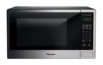 amazon com panasonic nn su696s countertop microwave oven with rh amazon com panasonic convection microwave user manual panasonic genius microwave convection oven manual