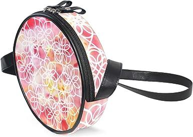 KEAKIA Scottish Dancing Brusho Round Crossbody Bag Shoulder Sling Bag Handbag Purse Satchel Shoulder Bag for Kids Women