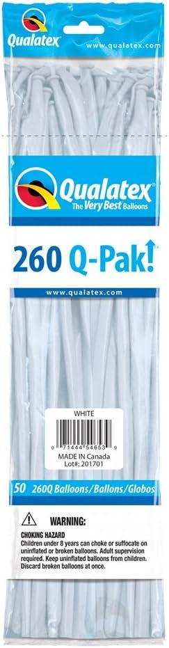 Qualatex 54653-Q Q-pak White, 260Q