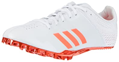 adidas Adizero Finesse, Chaussures d'Athlétisme Mixte Adulte, Blanc (Ftwbla/Negbás/Ftwbla 000), 46 2/3 EU