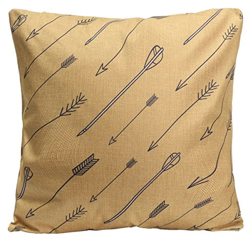 Fashion Style Geometric Cotton Pillow Case Square Decorative Home - Jaws Men With Square
