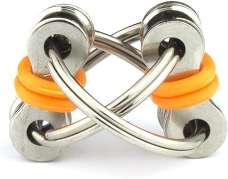 Chain Fidget Toy Hand Spinner Keyring Keychain Sensory Toys Stress Relieve  vw/%