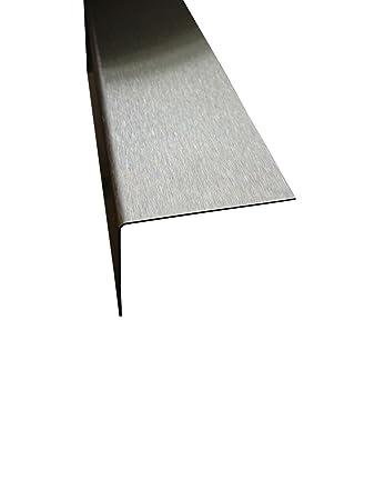 Kantenschutz Edelstahl 2 5 Meter 0 8 Mm Stark Fliesen L Winkel 25