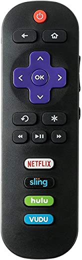Remote Control fit for TCL Roku TV 65S405 65S401 55UP120 55US57 55S401 55S405 50FS3750 55FS3700 49S405 48FS3700 48FS3750 43FP110 43UP120 43S405…