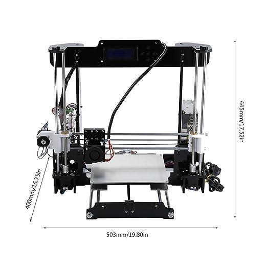 Anet A8 3d impresora DIY Impresora color aluminio estructura LCD ...