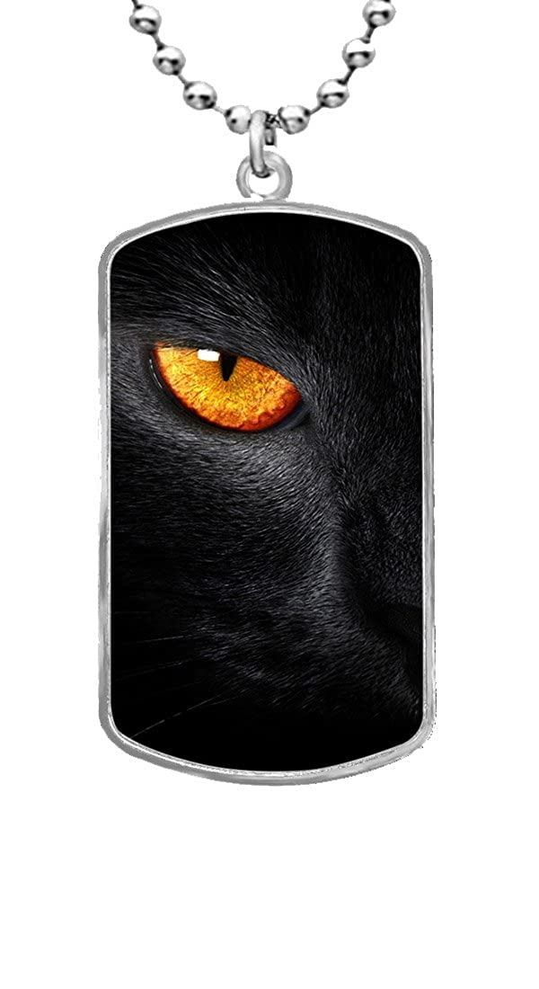 JAJAFOOK Black Panther Personalized Custom Photo ID Tag Pendant Necklace