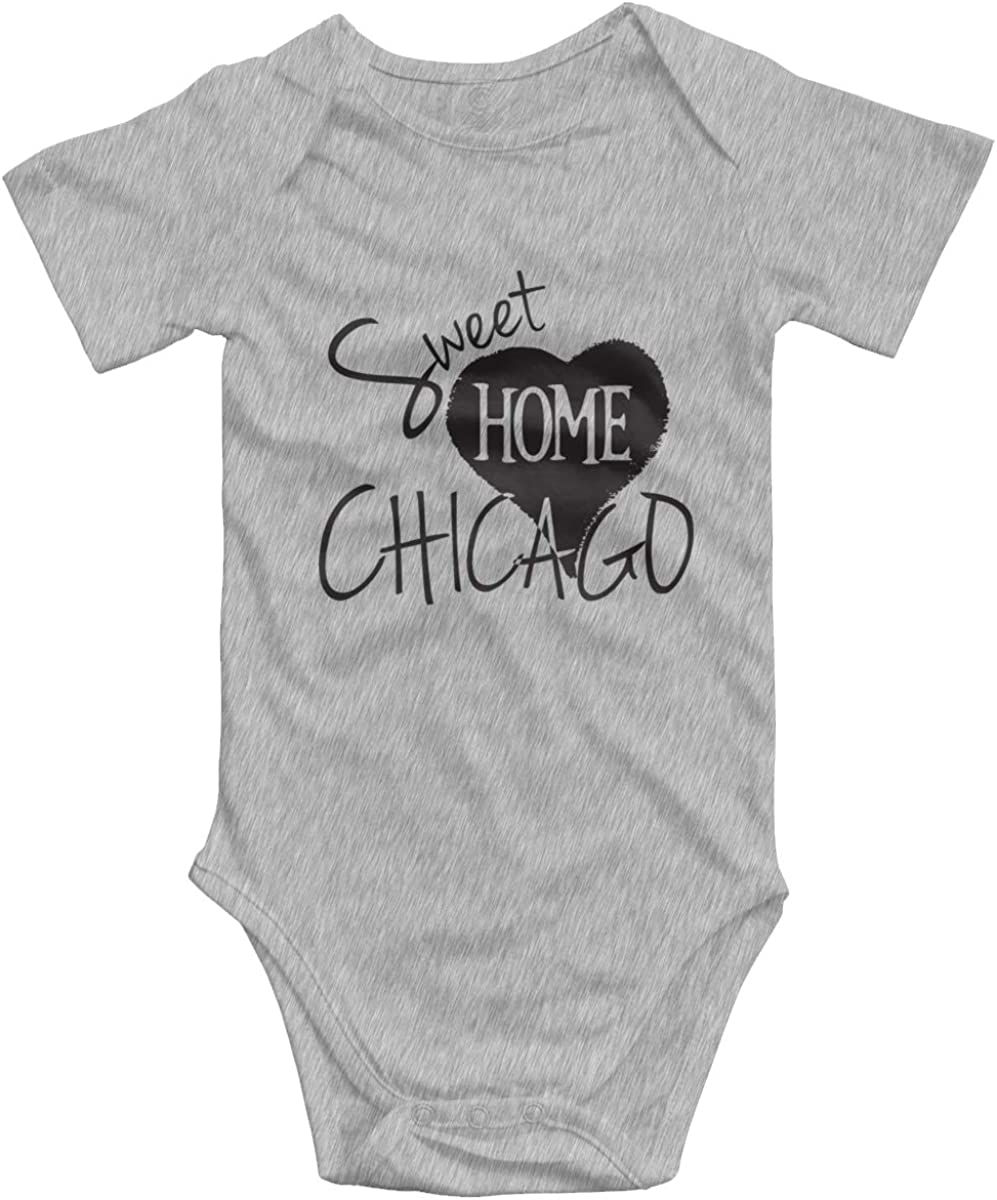 FOECBIR Chicago Skyline Baby Boy Toddler Jumpsuits 0-2 Old Clothing