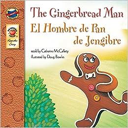 The gingerbread man grades pk 3 el hombre de pan de for Hombre de jengibre