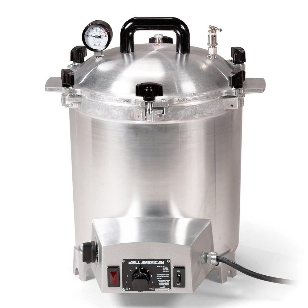 All-American Electric 25 Quart 1650 Watts/13.75 amps Sterilizer