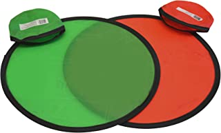 Folding Pocket Frisbee Flyer with Pouch (Pack of 6) Hayes