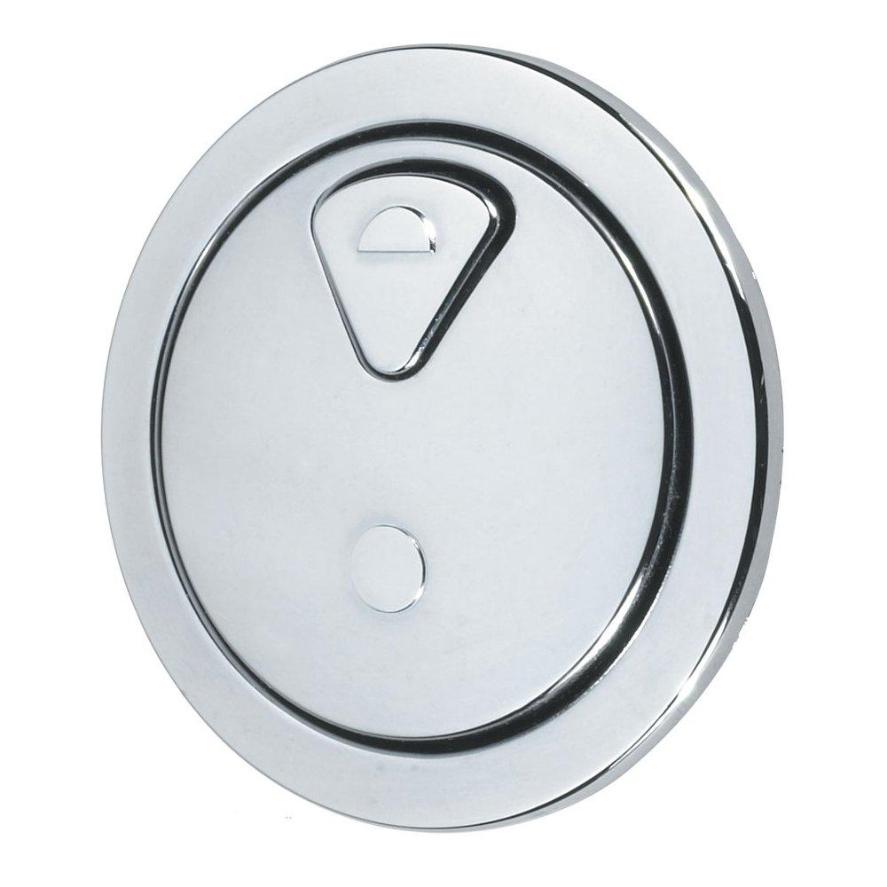 Thomas Dudley 73.5mm Vantage Dual Flush Round Push Button Chrome 327732