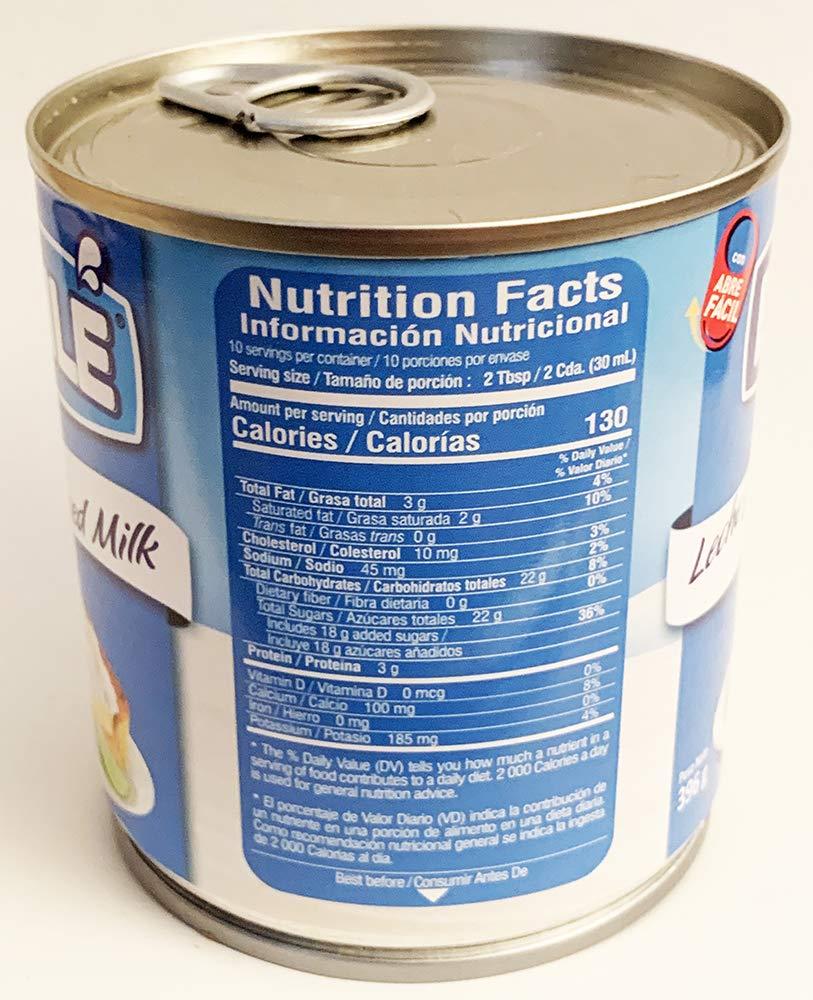 Amazon.com : Bonle Sweetened Condensed Milk 14oz (1 can) Leche ...