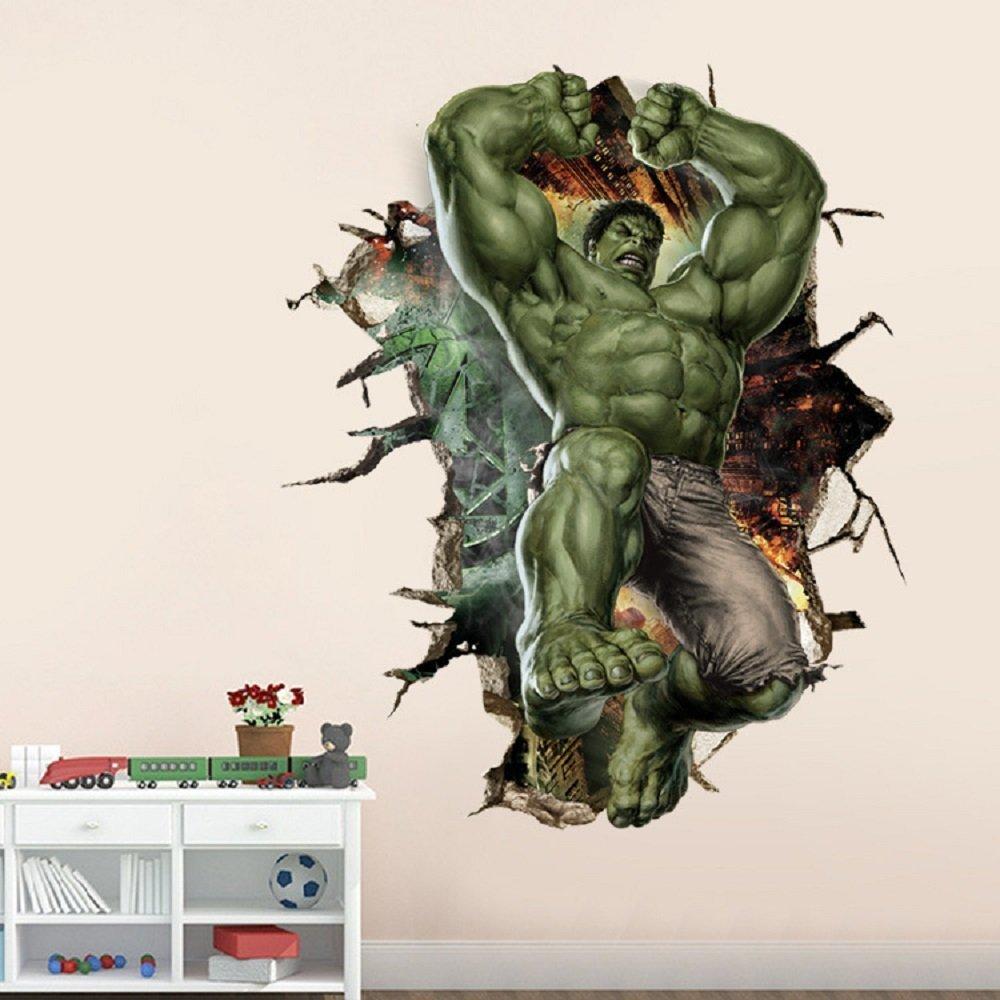 Amazoncom Marvelu0027s Incredible Hulk Vertical Peel and